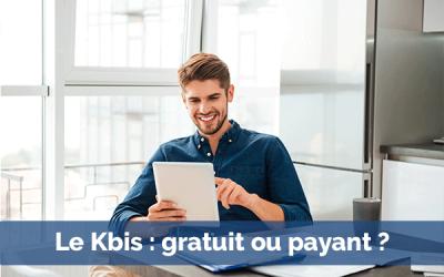 Kbis en ligne : gratuit ou payant ?